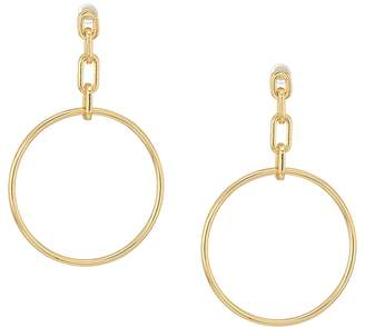 French Connection Link Frontal Hoop Earrings Earring