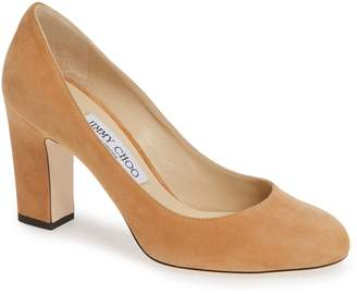 990137eb5bc6 Jimmy Choo Brown Pumps - ShopStyle