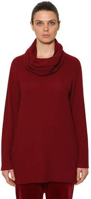 Marina Rinaldi Cashmere Sweater W/ Detachable Collar