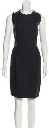Calvin Klein Collection Sleeveless Knee-Length Dress grey Sleeveless Knee-Length Dress