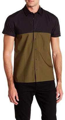 Scotch & Soda Short Sleeve Hi-Lo Shirt