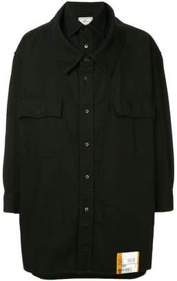 Miharayasuhiro plain oversized shirt
