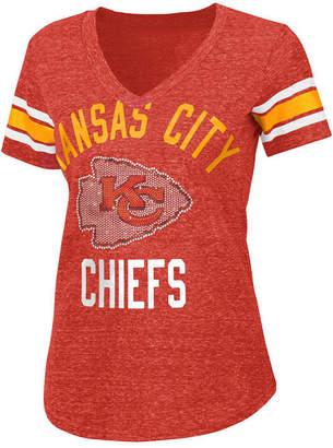 G-iii Sports Women's Kansas City Chiefs Big Game Rhinestone T-Shirt