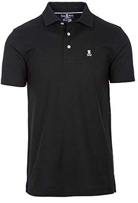 Psycho Bunny Men's Classic 3 Button Polo Shirt