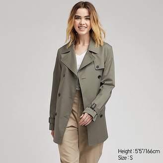 Uniqlo Women's Short Trench Coat