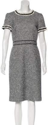 Tory Burch Tweed Sheath Dress