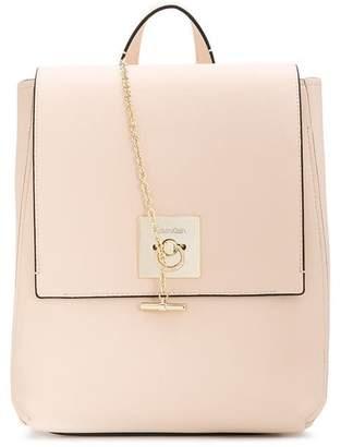 Calvin Klein chain detail backpack