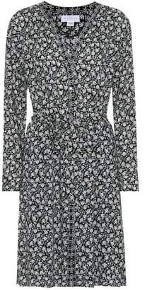 Velvet Mariyah floral printed crêpe dress