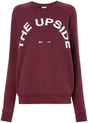 The Upside printed logo sweatshirt