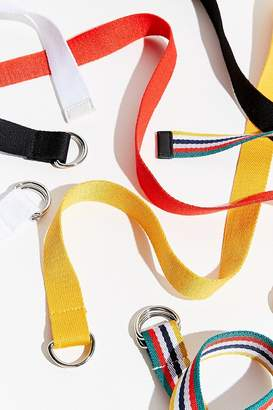 Urban Outfitters Webbed D-Ring Belt