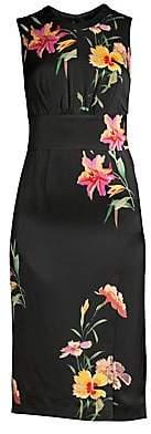 Etro Women's Lily Satin Sheath Dress