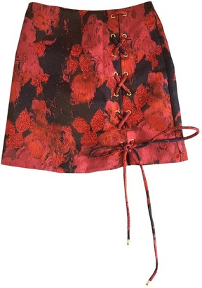 House Of Harlow Red Skirt for Women