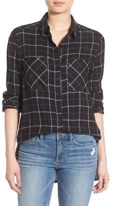 BP. Plaid Tunic Shirt $44 thestylecure.com