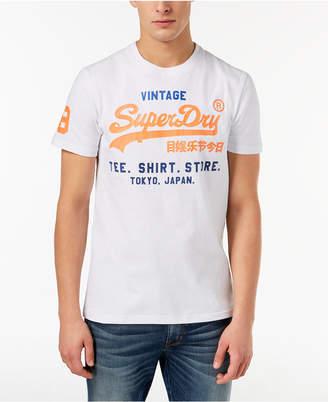 Superdry Men's Shirt Shop Tri Graphic T-Shirt