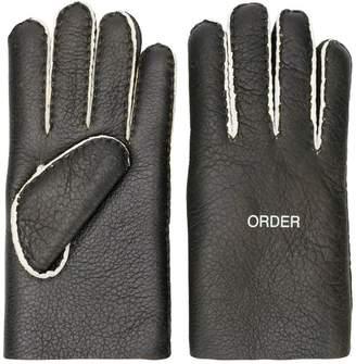 Undercover 'order/disorder' gloves