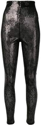 Philosophy di Lorenzo Serafini skinny sequin trousers
