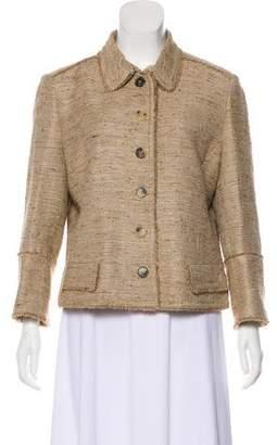 Burberry Wool Bouclé Jacket
