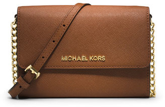 MICHAEL Michael Kors Jet Set Travel Large Phone Crossbody Bag, Luggage $168 thestylecure.com