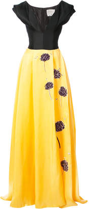 Carolina Herrera embroidered ball gown