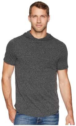 Threads 4 Thought Tri-Blend Pullover Short Sleeve Hoodie Men's Sweatshirt