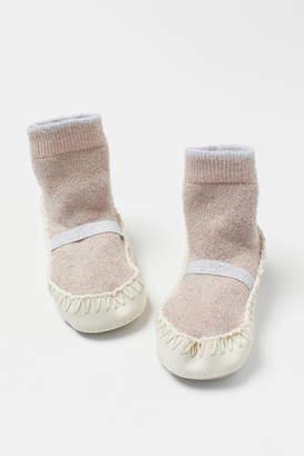 H&M Glittery Slipper Socks