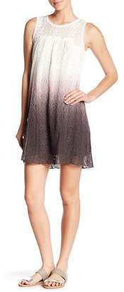 Couture Simply Two Tone Dip Dye Tank Tunic Dress
