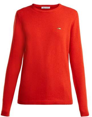 Bella Freud Round Neck Cashmere Sweater - Womens - Red