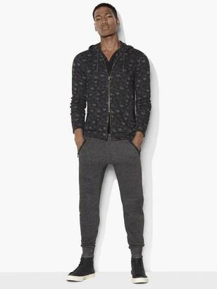 Camo Zipped Hoodie $148 thestylecure.com