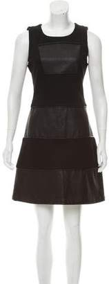 Julie Brown Sleeveless Mini Dress