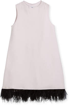 Milly Minis Feather Swing Dress, Size 4-7