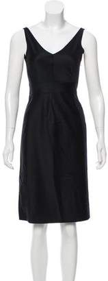 Narciso Rodriguez Wool A-Line Dress