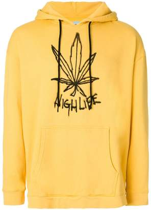 Adaptation high life print hoodie