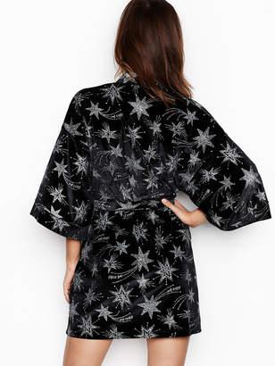 Victoria's Secret Victorias Secret Velvet Star Kimono