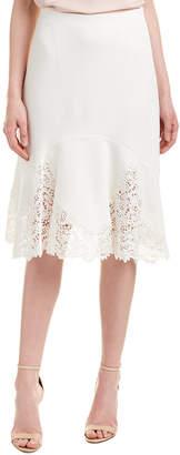 Rebecca Taylor Textured Midi Skirt
