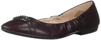 Nine West Women's GLIND Leather Ballet Flat
