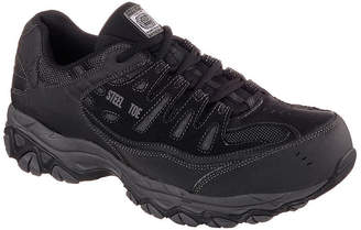 Skechers Cankton Mens Steel-Toe Work Sneakers