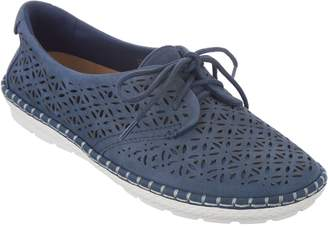 Earth Nubuck Leather Lace-up Espadrilles - Pax