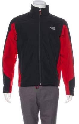 The North Face Mock Neck Windbreaker Jacket