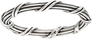 Peter Thomas Roth Sterling Signature RomanceStack Ring