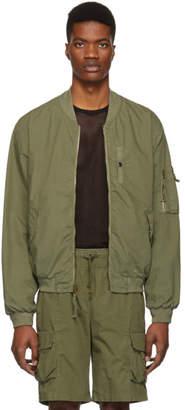 John Elliott Green Military Field Jacket