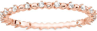 Thomas Sabo Dots 18ct rose gold-plated sterling silver ring