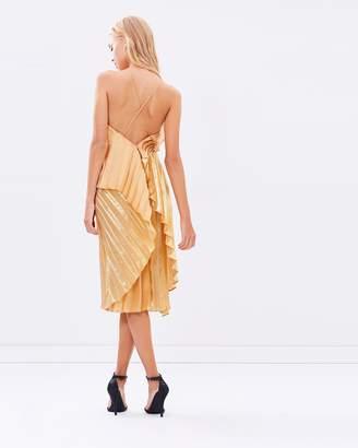 Pleats Please Midi Dress
