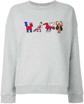 Parker Chinti & Aztec sweatshirt