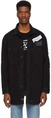 Diesel Black Denim D-Loren Jacket