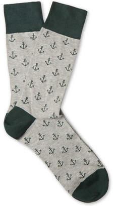 Corgi Cotton-Blend Socks