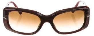 Persol Gradient Rectangle Sunglasses