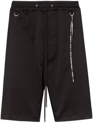 Mastermind Japan skull embroidered shorts