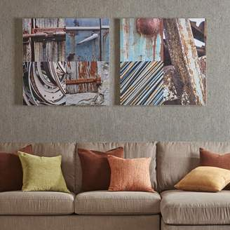Inkivy INK+IVY Weathered Objects Canvas Wall Art 2-piece Set