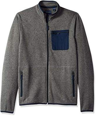 Dockers Full Zip Long Sleeve Sweater Fleece