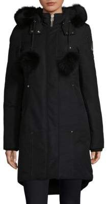 Moose Knuckles Stirling Fox Fur-Trimmed Parka